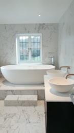 raised tub bath